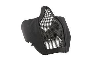 Маска Stalker Evo с монтажом для шлема FAST - black [Ultimate Tactical] (для страйкбола), фото 2