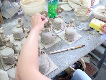 изготовление сувениров из керамики