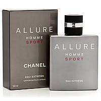 Мужская туалетная вода Chanel Allure Homme Sport Eau Extreme 100 ml (Шанель Аллюр Хом Спорт Экстрим)