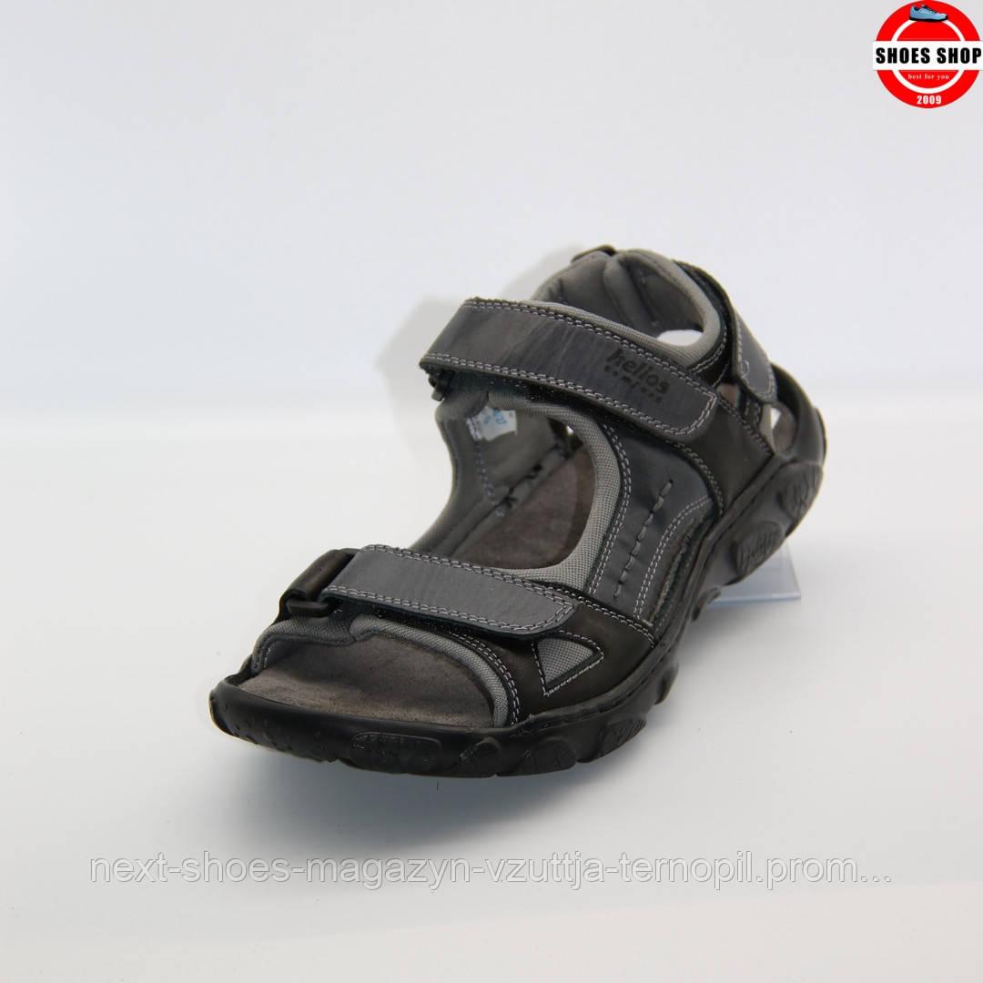 Чоловічі сандалі Helios (Польща) чорного кольору. Зручні та красиві. Стиль - Дэвід Бекхэм