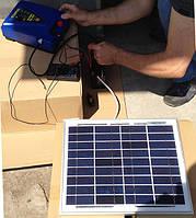 Эксплуатация солнечной панели для подключения электропастуха