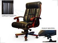 Кресло руководителя Мурано черное (Диал ТМ)