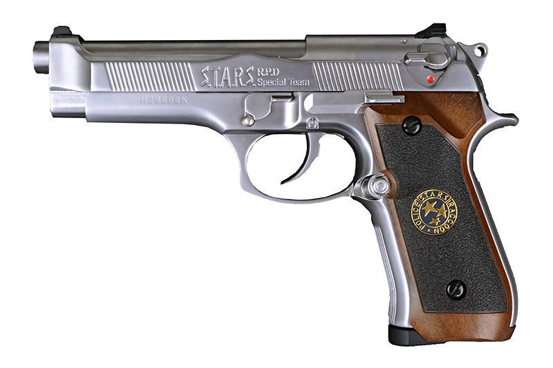 Страйкбольный пистолет Samurai Edge Standard M9 - silver [WE] (для страйкбола)