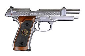 Страйкбольный пистолет Samurai Edge Standard M9 - silver [WE] (для страйкбола), фото 3