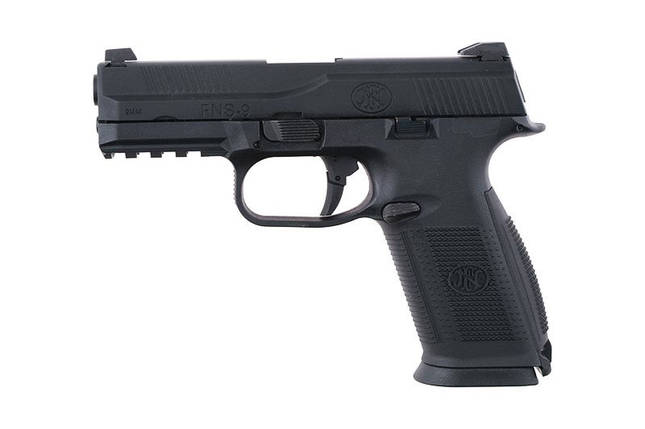 Страйкбольный пистолет FN FNS-9 BAX - black [CyberGun] (для страйкбола), фото 2