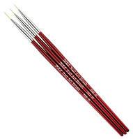 Набор кистей для рисования Yre Nail Art Brush NKR-00, 3 шт.
