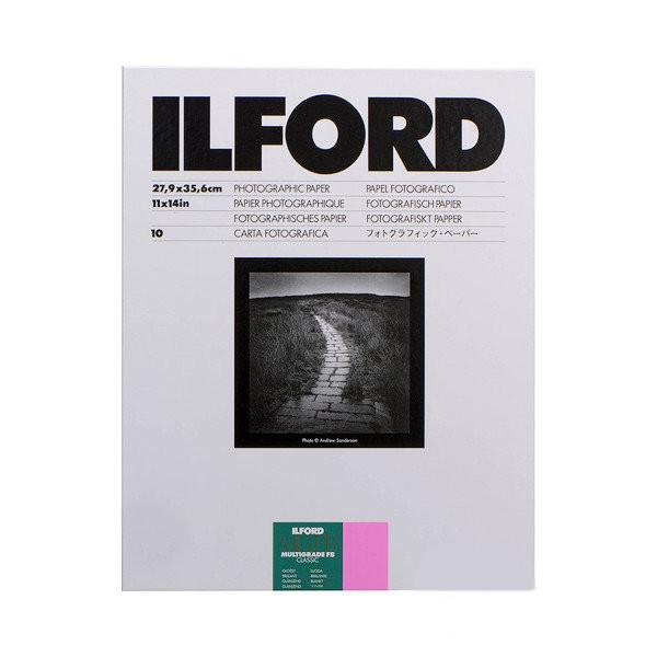 Фотобумага ILFORD MULTIGRADE FB Classic , 10 листов. 27.94 X 35.56 cm