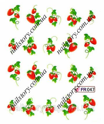 Водные слайдеры для ногтей FR047, фото 2