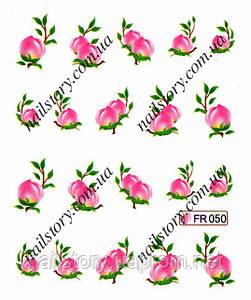 Водные наклейки для ногтей FR050