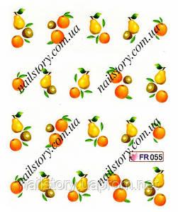 Водные наклейки для ногтей FR055
