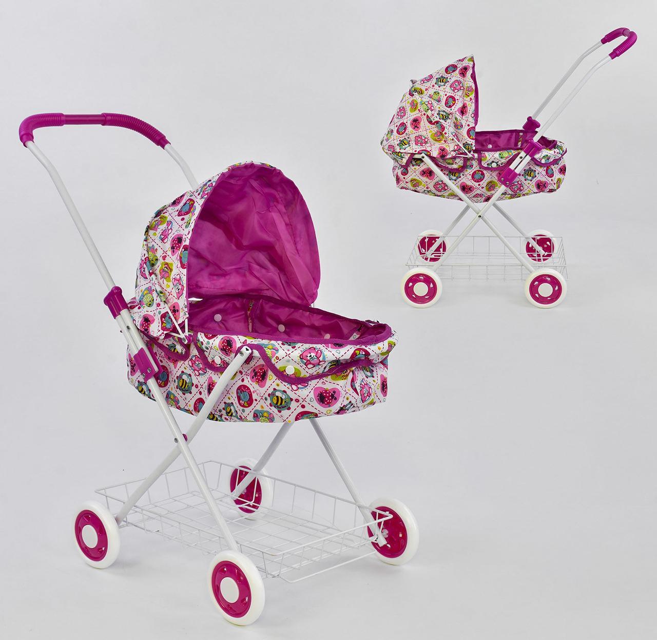 Дитяча коляска для ляльок 8826 N - 448231 (18) сітка металева, в кульку
