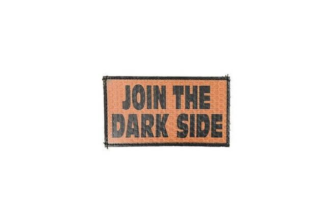 Нашивка IR - Join The Dark Side - pomarańczowa [Combat-ID], фото 2