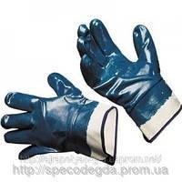 Перчатки нитрильные L Синий