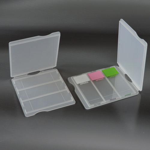 Слайдер/штатив для транспортировки и хранения предметных стекол на 3 места