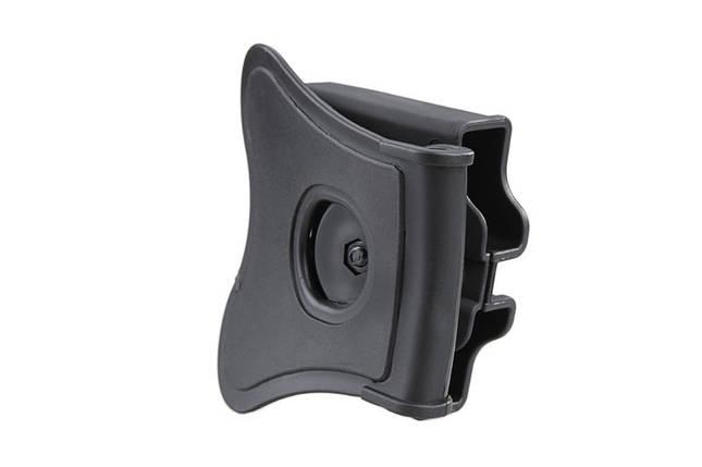 Ładownica na 2 magazynki pistoletowe (uniwersalna) - czarna, фото 2