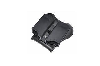 Ładownica na 2 magazynki pistoletowe (uniwersalna) - czarna, фото 3