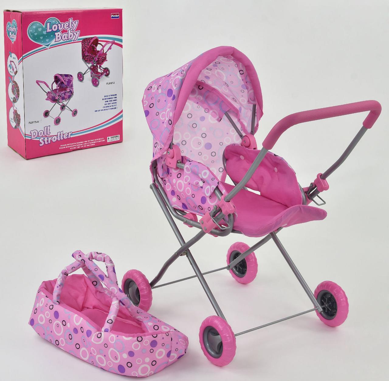 Дитяча коляска для ляльок FL 8175 A (6) в коробці