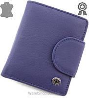 Женский компактный кошелек из натуральной кожи ST Leather