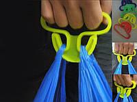 Ручка держатель для пакетов, кульков, сумок, мешков