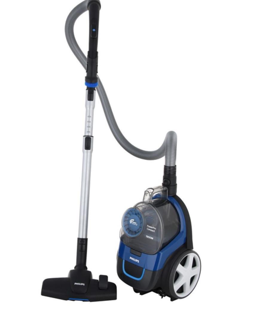 Безмешковый пылесос PHILIPS FC9352/01 1900 Вт для сухой уборки синий