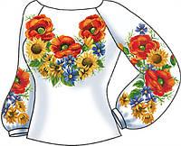 СВЖ-32. Заготовка для вишивки бісером Жіноча сорочка