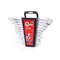 ✅ Набор рожково-накидных ключей 12 шт, 6-22 мм INTERTOOL HT-1203