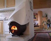 Печь-Булерьян тип 00. канадская печь, печь отпительная, печь варочная