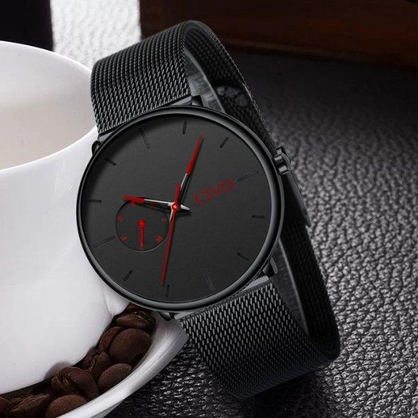 Чоловічі наручні годинники Civo Tower Red