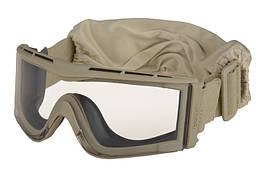 Niskoprofilowe gogle защитные X810 - Tan [Bolle]
