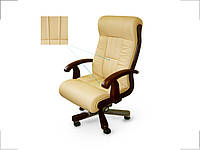 Кресло руководителя Мурано бежевое (Диал ТМ)