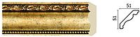Карниз(плинтус) потолочный Арт-Багет 155 -552,интерьерный декор.