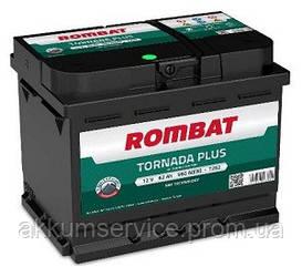 Аккумулятор автомобильный ROMBAT TORNADA PLUS 62AH R+ 560A (T262)