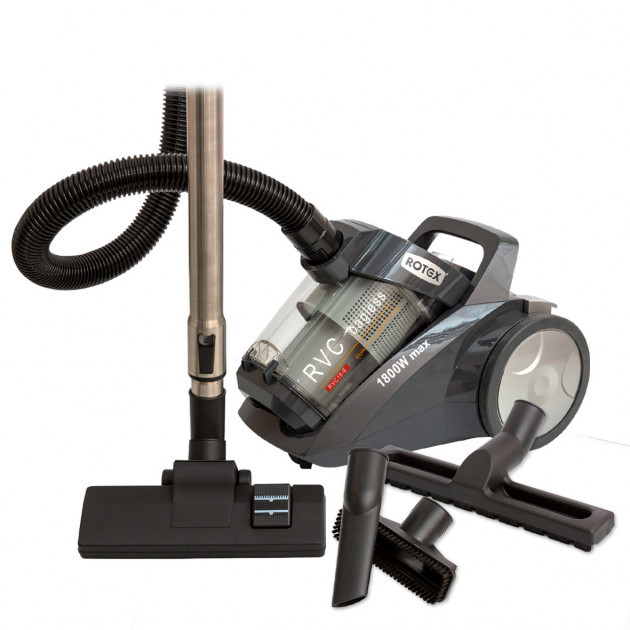 Пылесос без мешка Rotex RVC-18-E 1800 Вт серый для сухой уборки дома