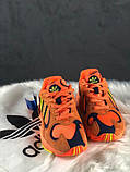 Стильні кросівки Adidas yung 1 hi res orange, фото 5