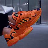 Стильні кросівки Adidas yung 1 hi res orange, фото 2
