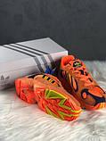 Стильні кросівки Adidas yung 1 hi res orange, фото 4