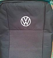 Чехлы на сиденья (budget) Volkswagen Caddy (Фольксваген Кадди) (5 мест 2/3 спинка) с 2004-2010