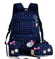 Рюкзак, сумка, пенал. Школьный набор из трех вещей!