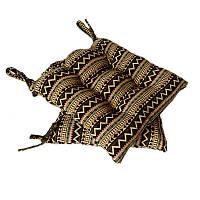 Подушка на стул гобеленовая Этно орнамент 1  40*40 см
