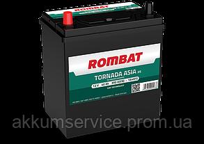 Аккумулятор автомобильный ROMBAT TORNADA Asia 40AH L+ 300A (TA40FG)