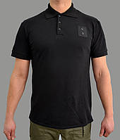 Формення футболка поло черная для полиции
