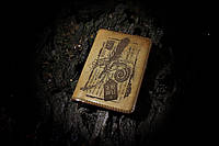 """Мягкая кожаная обложка на паспорт Letter"""""""