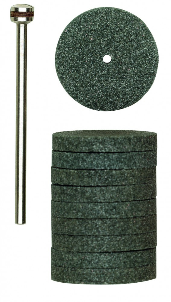 Шлифовальные круги из карбида кремния PROXXON 22 мм, 10 шт. (28304)