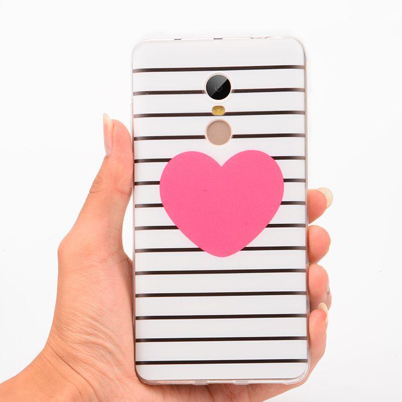 """Панель накладка Прозрачная TPU Case для Apple iPhone 7/8с принтом """"Сердце"""""""