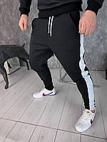 Спортивные штаны Black Slim D4115 черные