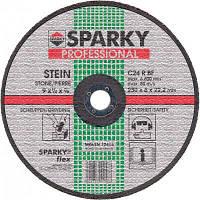 Диск SPARKY шлифовальный по камню d 230 мм\\ C 24 R\\ 230x6x22.2 (20009567804)