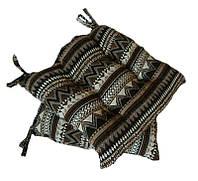 Подушка на стул гобеленовая Этно орнамент 2  40*40 см