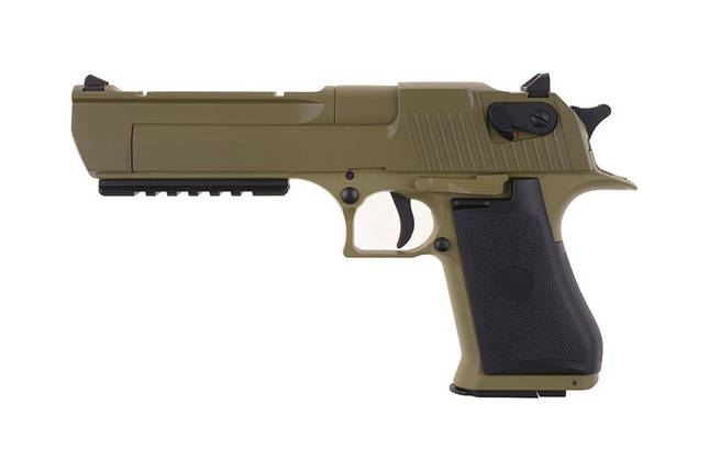 Страйкбольный пистолет CM121 - tan [CYMA] (для страйкбола), фото 2