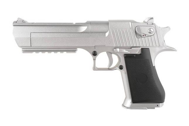Страйкбольный пистолет CM121 - Silver [CYMA] (для страйкбола), фото 2