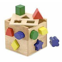 Развивающая игрушка Melissa&Doug Сортировочный куб (MD575)